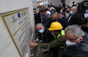 الحكومة الفلسطينية تنفذ 93 مشروعًا في قطاع المياه والصرف الصحي بتكلفة 672 مليون دولار خلال عامين