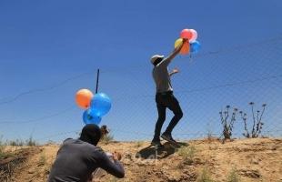 اعلام عبري: اندلاع (4) حرائف في أحراش البلدات الإسرائيلية المحاذية لغزة