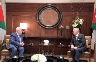 الرئيس عباس يهاتف الملك عبد الله الثاني للاطمئنان على صحة ولي العهد