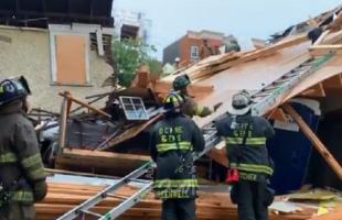 انتشال (18) جثة في انهيار مبنى بواشنطن- فيديو