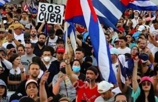 """رئيس كوبا: الاضطرابات في البلاد """"كذبة"""" ومشاهد الاحتجاجات """"مضللة"""""""