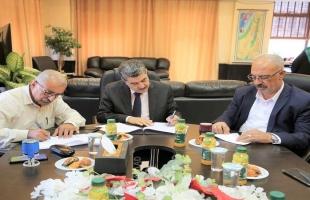الخليل: توقيع اتفاقيتين لفتح مكتبين لوزارة الداخلية في ترقوميا وبني نعيم