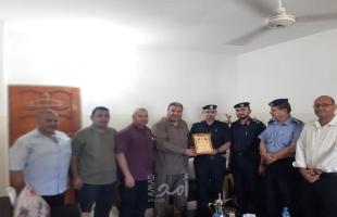 المقاومة الشعبية تزور مدير شرطة محافظة غزة لتهنئته بمنصبه الجديد