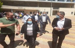 """الكيلة تُوعز بزيادة الكوادر الطبية في مراكز فحص """"كورونا"""""""