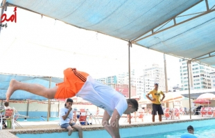 شاهد - كيف يتحدى مبتوري الاطراف الاعاقة في قطاع غزة