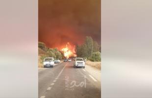 وفاة (18) عسكرياً جراء الحرائق شمال الجزائر