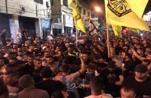 مسيرة في جنين ومخيمها تنديدًا بجريمة إعدام الشهيد الصباريني