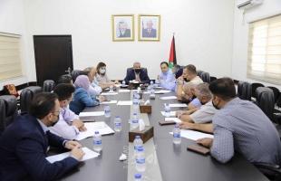 قلقيلية: الاجتماع الدوري للجنة المرورية في المحافظة