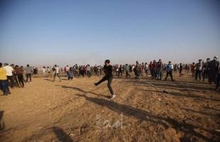 صحة حماس: (14) إصابة جرّاء قمع قوات الاحتلال للمتظاهرين شرقي خانيونس