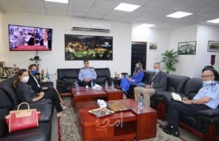 تفاصيل اجتماع شرطة رام الله مع الاتحاد الأوروبي
