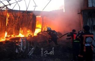 الدفاع المدني يتعامل مع 63 حادثًا بالضفة