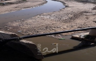 الحكم المحلي: وادي غزة لن يكون مجرى لمياه الصرف الصحي مرة أخرى