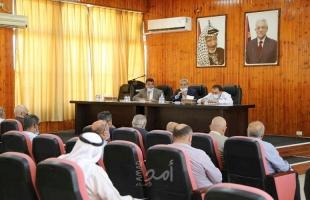 قلقيلية: الاجتماع الدوري للمجلس التنفيذي
