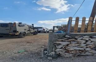 """جيش الاحتلال يُخطر بوقف العمل في موقع """"دار الضرب"""" الأثرية غرب سلفيت"""