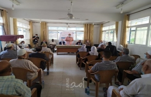 جمعية المتقاعدين بوكالة الغوث تنظم ندوة طبية حول امراض الشيخوخة برفح