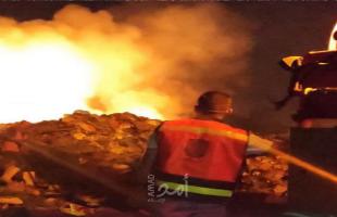 جيش الاحتلال يطلق الرصاص الحي تجاه طواقم بلدية غزة في جحر الديك