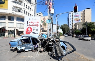 مرور غزة: 9 حوادث سير نتج عنها 3 اصابات خلال 24 ساعة الماضية