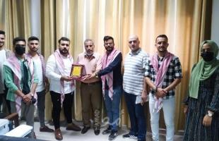 غزة: كتلة الوحدة الطلابية في جامعة الأقصى تلتقي برؤساء الأقسام وتبحث عدة قضايا