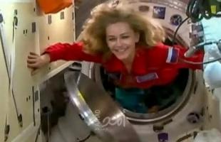 سفينة الفضاء التي تحمل طاقماً سينمائياً روسياً في طريقها إلى الأرض.. فيديو