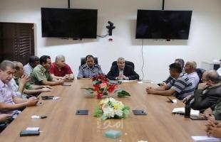 قلقيلية: اجتماع لجنة الطوارئ في المحافظة