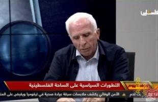 الأحمد يتحدى حماس والجهاد الإعلان عن قواعد الاشتباك مع سلطات  الاحتلال