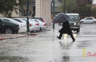 جنين: إغلاق شارعين بسبب سوء الأحوال الجوية