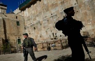 قوات الاحتلال تغلق الحرم الإبراهيمي في الخليل