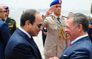 العاهل الأردني يوجه دعوة للرئيس المصري السيسي لزيارة الأردن