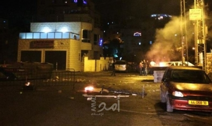 نابلس: إصابات بالرصاص المطاطي والاختناق عقب اقتحام قوات الاحتلال بلدة بيتا
