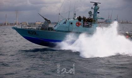 زواق الاحتلال تطلق نيران رشاشاتها تجاه مراكب الصيادين قبالة بحر شمال غزة