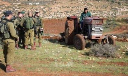 سلطات الاحتلال تمسح أراضي المواطنين في الأغوار الشمالية