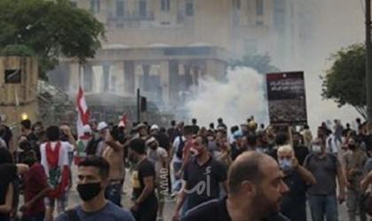 """لبنان.. محتجون يقطعون طريقا رئيسا في """"البقاع"""" احتجاجا على تردي الأوضاع الاقتصادية والمعيشية"""
