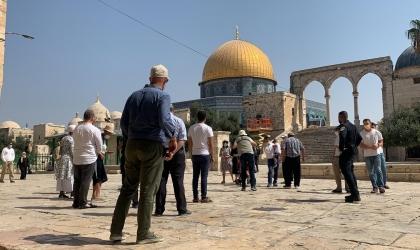 القدس: عشرات المستوطنين يقتحمون المسجد الأقصى