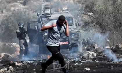 محدث- إصابات العشرات من المواطنين خلال مواجهات مع قوات الاحتلال بالضفة