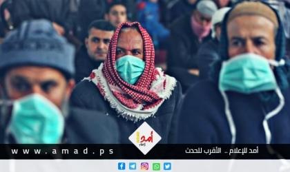"""صحة حماس: تسجيل (967) إصابة جديدة بـ""""كورونا"""" في قطاع غزة"""