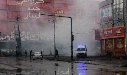 لبنان: تظاهرات واشعال حاويات احتجاجاً على تردي الأوضاع الاقتصادية