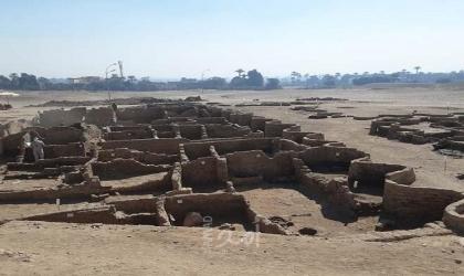مصر تعلن اكتشاف المدينة الذهبية المفقودة في الأقصر ويعود تاريخها إلى 3000 عام