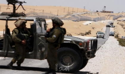 جيش الاحتلال يطلق النار على مهربي مخدرات قرب الحدود المصرية