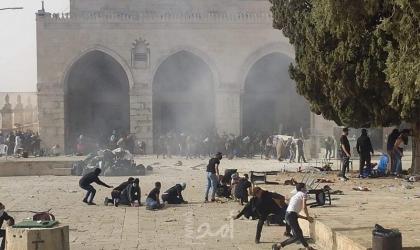 محدث.. تنديد فلسطيني لاقتحام شرطة الاحتلال الهمجي للمسجد الأقصى