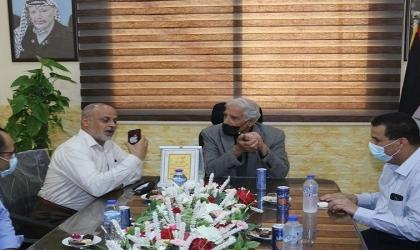 محافظ غزة يلتقي وفد تجمع الأطباء الفلسطينيين في أوروبا فرع ألمانيا