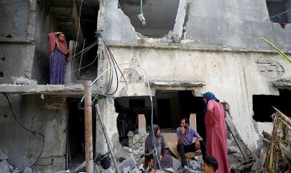 الصليب الأحمر يحدد المدة اللازمة لعودة الحياة الطبيعية إلى غزة