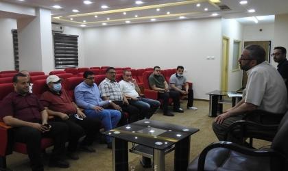 وحدة التخطيط تنظم ورشة عمل لمدراء قطاع الترخيص بغزة