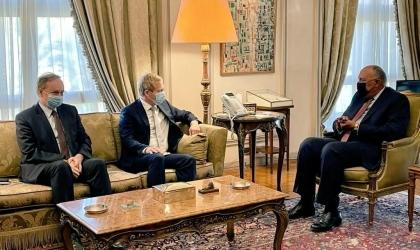 مبعوث الاتحاد الاوروبي للسلام الجديد يثمن دور مصر في دعم فلسطين