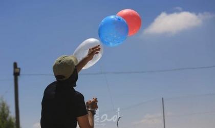 بفعل البالونات الحارقة.. (3) حرائق داخل بلدات إسرائيلية شرق السياج الفاصل لقطاع غزة