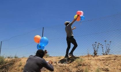 قائد المنطقة الجنوبية في جيش الاحتلال يعلق على البالونات الحارقة والإرباك الليلي