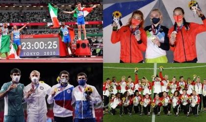 """حصيلة ميداليات أولمبياد """"طوكيو 2020"""" بعد منافسات """"الجمعة"""""""