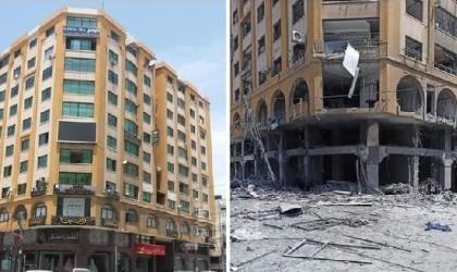 مرور غزة تُعلن إغلاقات في الطرق للبدء بإزالة برج الجوهرة