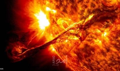 عاصفة شمسية وشيكة تضرب الأرض - فيديو