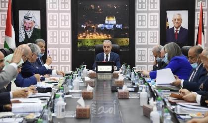 طالع  أبرز قرارات مجلس الوزراء الفلسطيني في جلستة الإسبوعية
