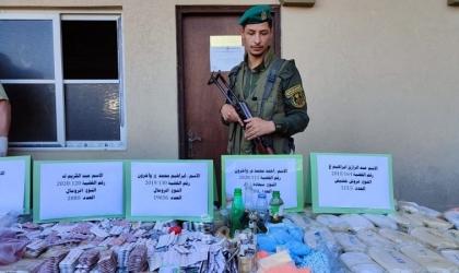 شرطة مكافحة حماس: سلطات الاحتلال المسؤول الأول عن انتشار المواد المخدرة